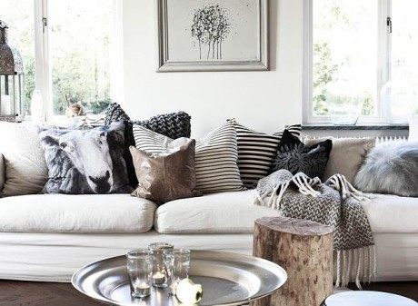 living room scatter cushions